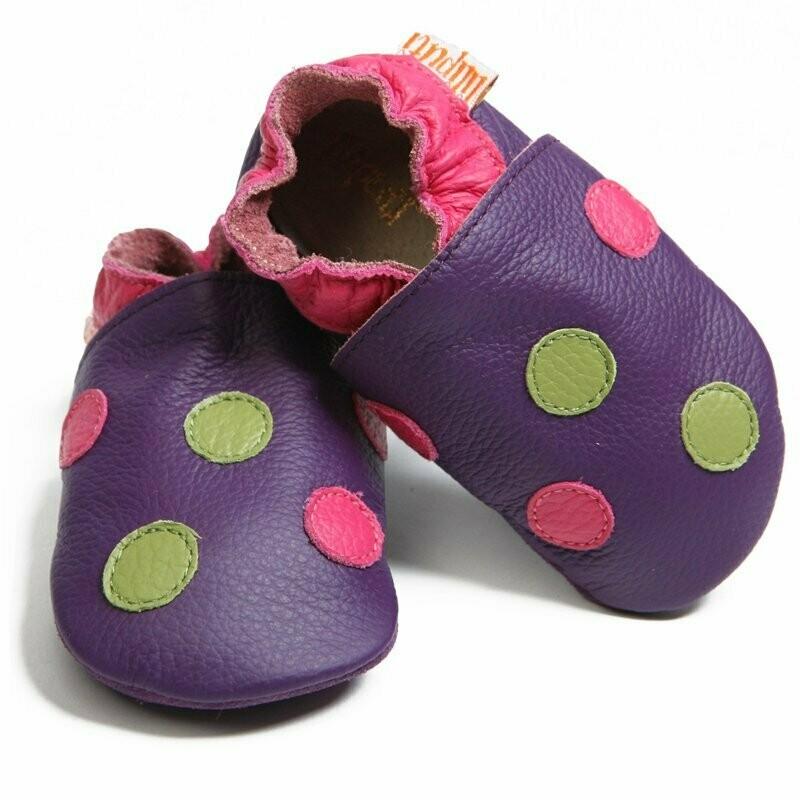 Polka Dots Purple