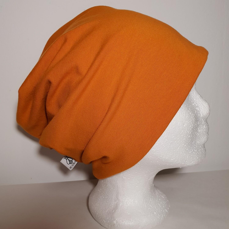 BEANIE I Jersey Mütze, Orange