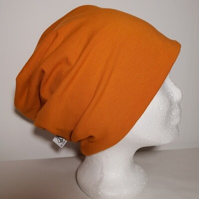BEANIE I Jersey Mütze, Orange