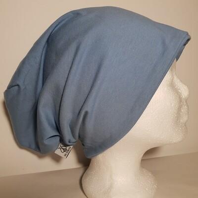 BEANIE I Jersey Mütze, Blue Jeans