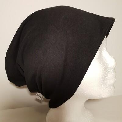 BEANIE I Jersey Mütze, Black