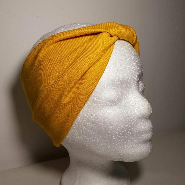 Headband I Jersey Mustard