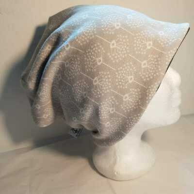 BEANIE I  Mütze aus leichtem Strickstoff, Grey