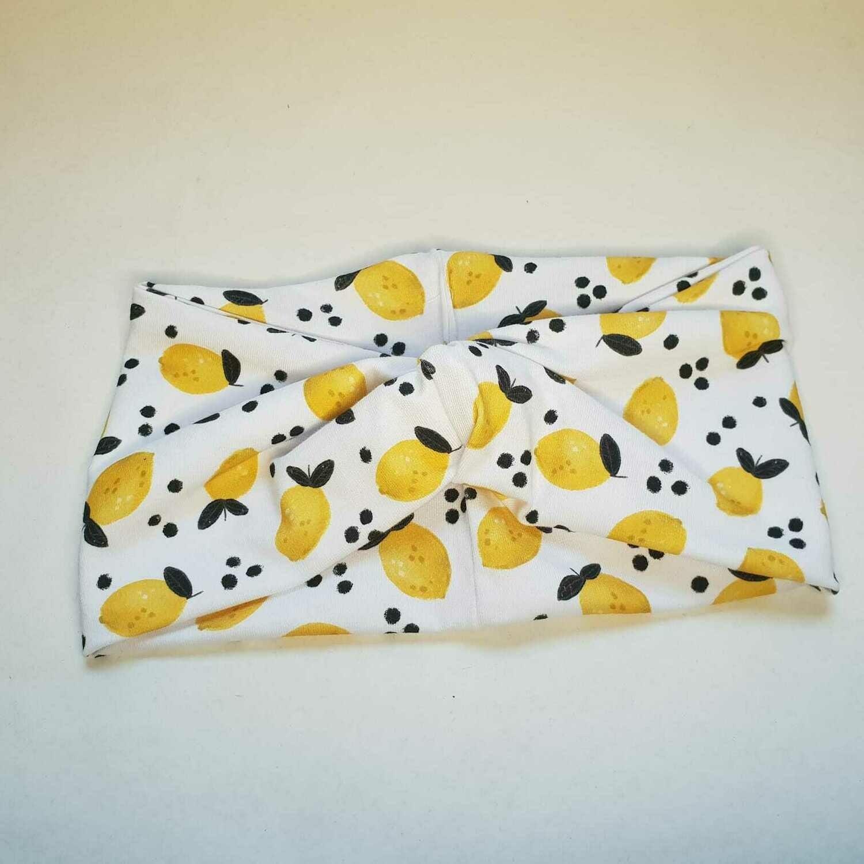 Turban Headband I Lemon