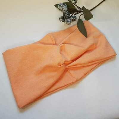 Turban Headband I Ganz einfach apricot