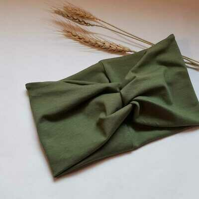 Turban Headband I Plain green