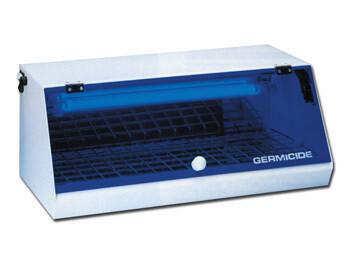 Sterilizzatore professionale con lampada germicida a raggi UV 8W