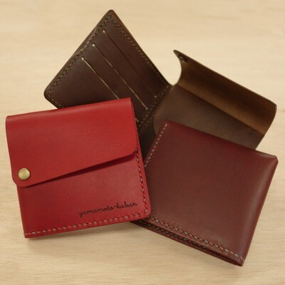 Folded wallet