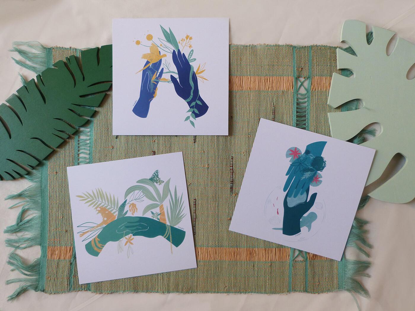Prints - Mains & Nature