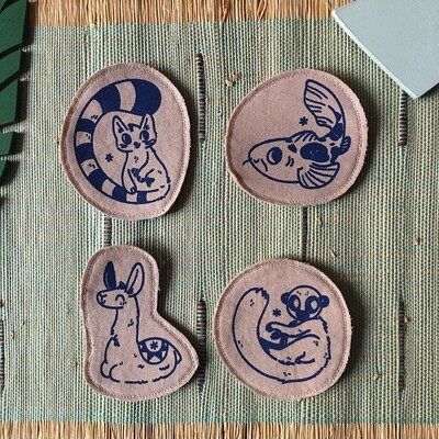 Broches artisanales - ani'cute