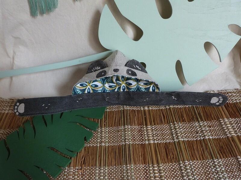 Panda Scoodie - 5-6