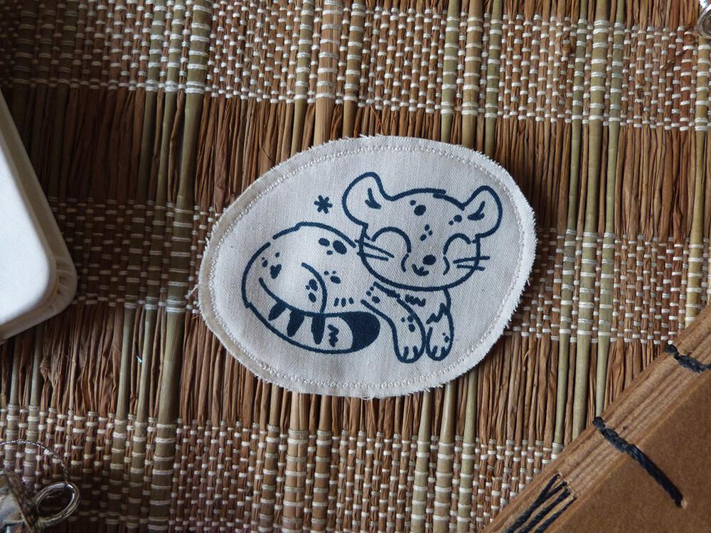 Broche artisanale - ani'cute Guépard / Cheetah