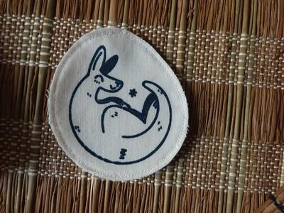 Broche artisanale - ani'cute Kangourou / Kangaroo