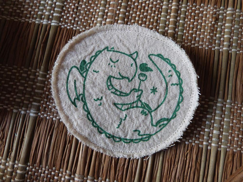 Broche artisanale - ani'cute Dragon