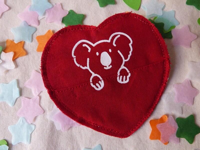 Broche à poche KOALA - Saint Valentin