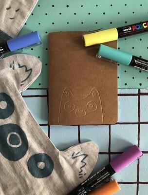 Mini carnet - Lémurien