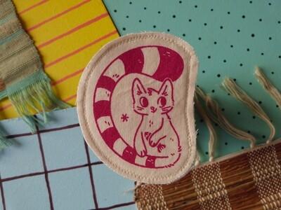 Broche artisanale - ani'cute Chat / Cat