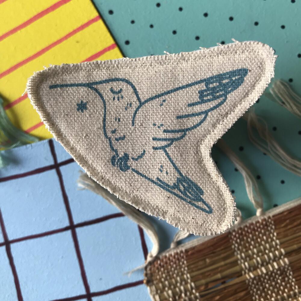Broche artisanale - ani'cute Colibri / Hummingbird