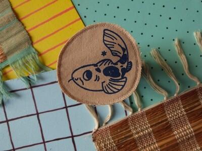 Broche artisanale - ani'cute Carpe Koi / Koi fish