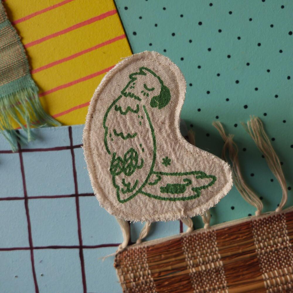 Broche artisanale - ani'cute Perroquet / Parrot