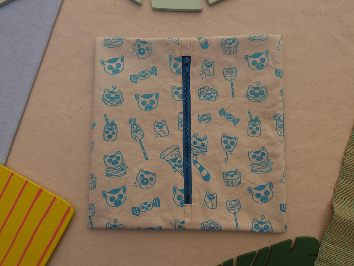 Partie interchangeable ZIP LemurBouffe - turquoise