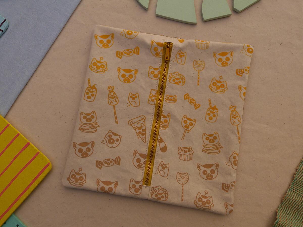 Partie interchangeable ZIP LemurBouffe - jaune