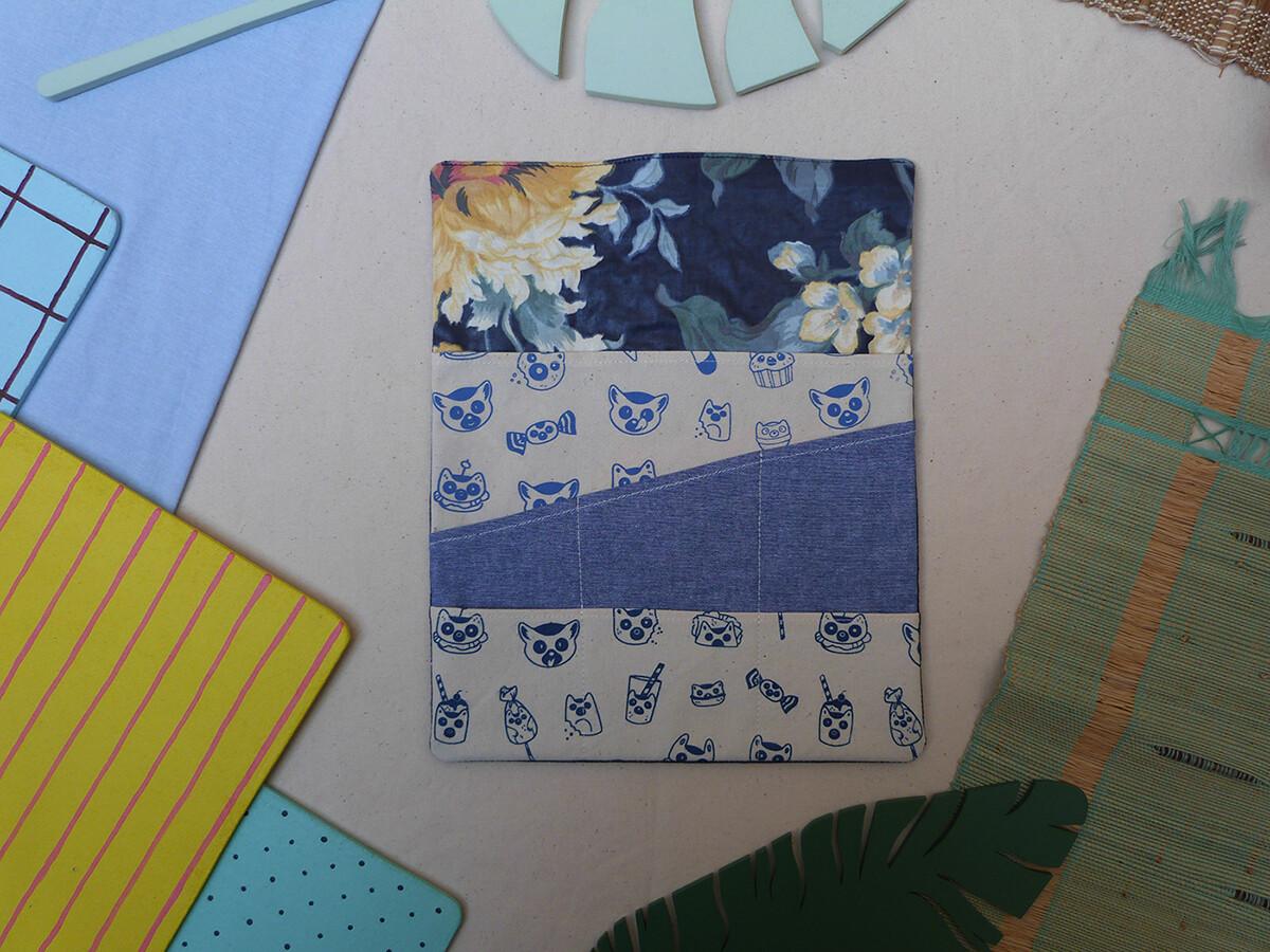 Partie interchangeable CRAYONS LemurBouffe - bleue foncée