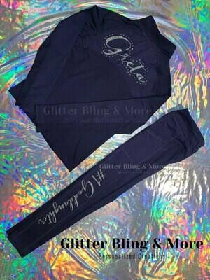 Personalized sweatpants