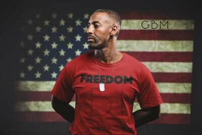 Freedom block t-shirt