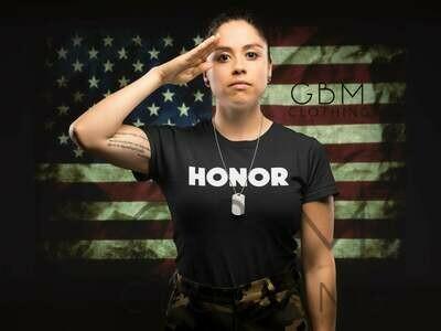 Honor block t-shirt