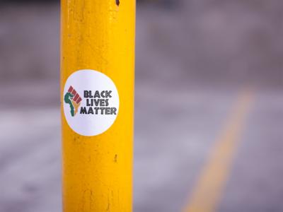 Black Lives Matter stickers