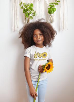 Peace Love Sunflower top