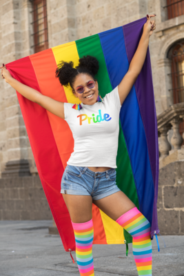 PRIDE rainbow top