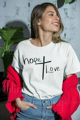 Hope Cross Love Logo Top