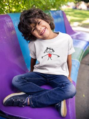 Kids style create a shirt