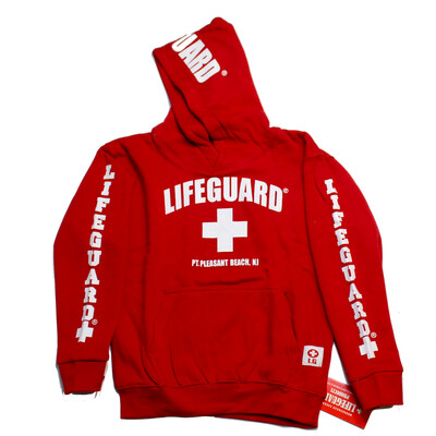 Youth Point Pleasant Beach Lifeguard Hoodie