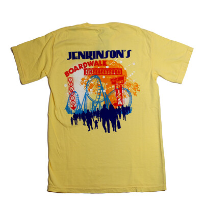 Adult Jenkinson's Boardwalk Coaster T- Shirt