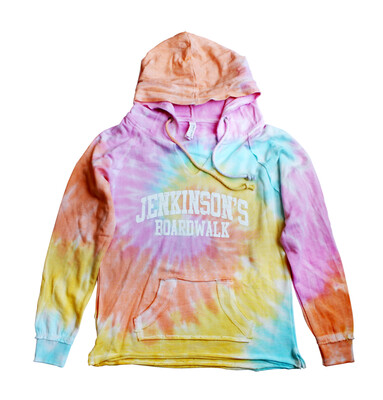 Ladies Jenkinson's Tie Dye Light Hoodie