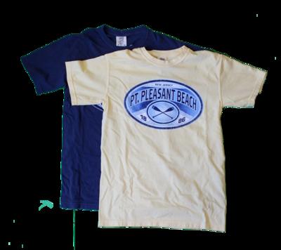 Adult PPB Crossed Oars T-Shirt