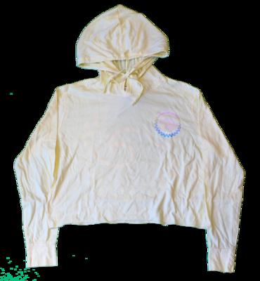 Adult Wave Crop Long Sleeve Hood