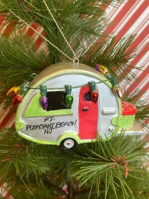 Camper with Lights Ornament