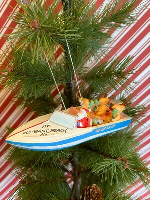 SS Party Boat Ornament