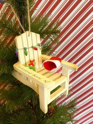 Adirondack with Presents Ornament