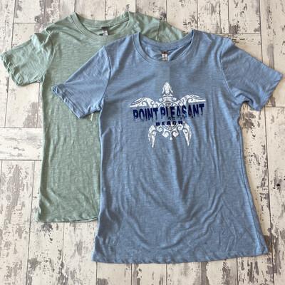Ladies Point Pleasant Beach Turtle T-Shirt
