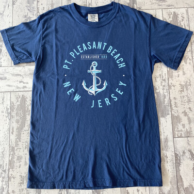 Adult Pt. Pleasant Beach Anchor T-Shirt