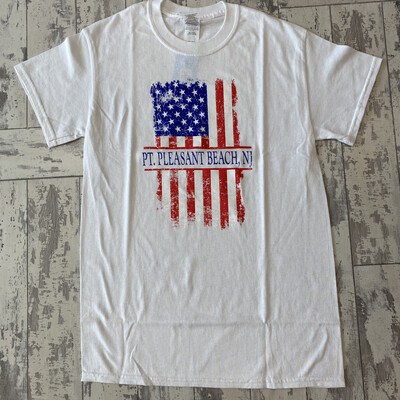 Adult American Flag T-Shirt