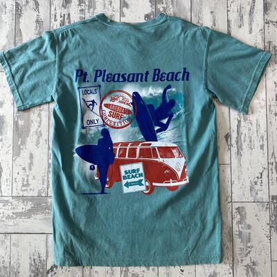 Adult Pt. Pleasant Beach Surfer T-Shirt