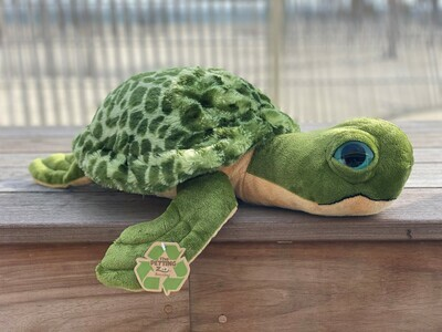 Sea Turtle Plush - Large with Pattern Shell