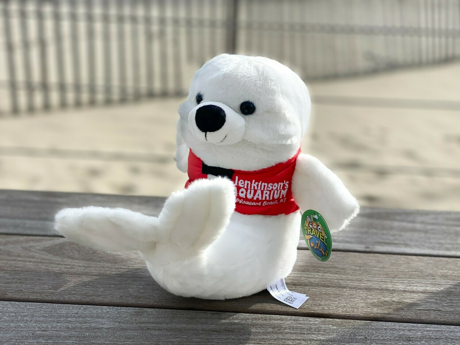 Seal Travel Tails Plush
