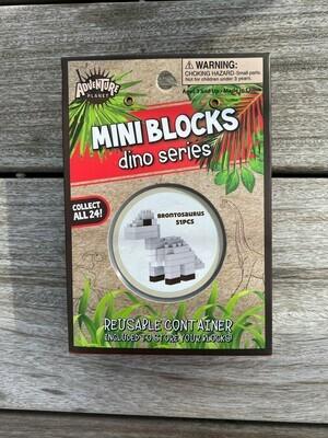 Mini Blocks - Brontosaurus